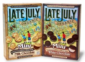 late july organic mini milk chocolate
