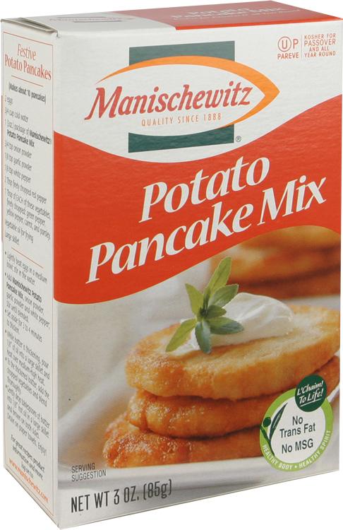 manischewitz potato pancake mix inspires best dinner in weeks