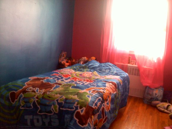 Toy Story comforter side