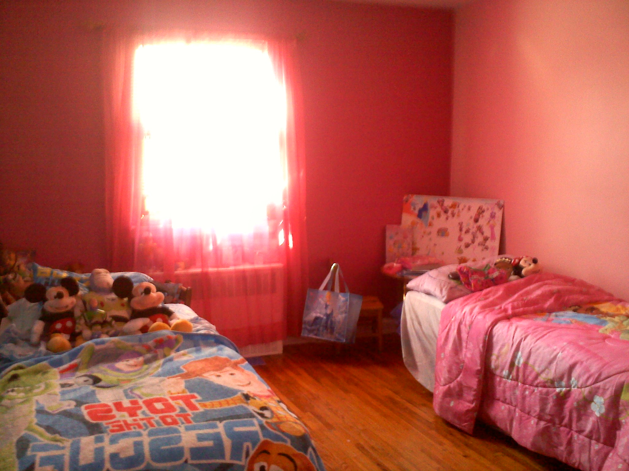 Sponsored How Disney Paint Made My Kids Room Magically