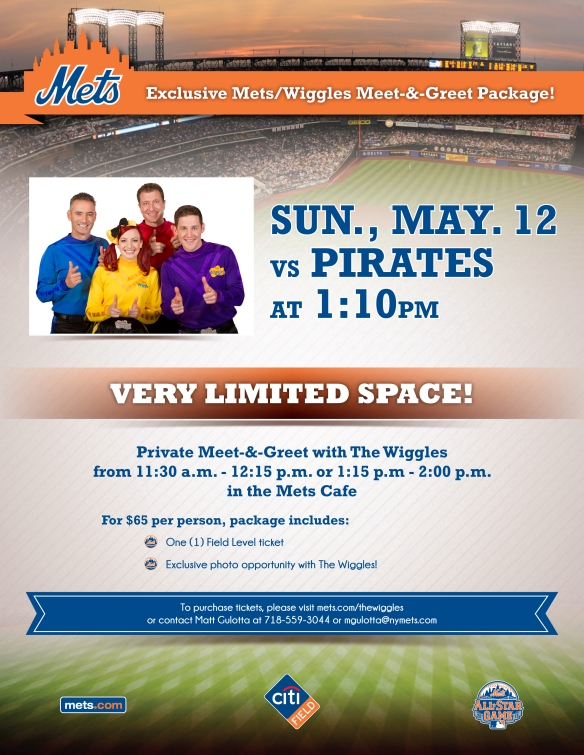 The Wiggles Come to Citi Field!